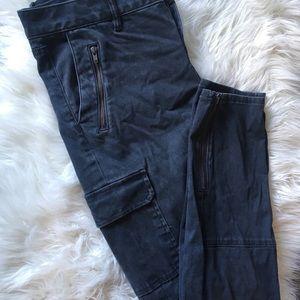LOFT Super-Soft Heathered Cargo Pants